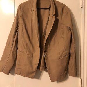 Khaki blazer